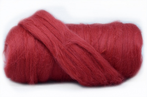 Deep Mulberry Dyed Merino 2.52
