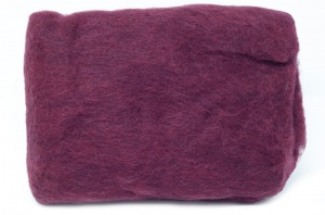 Carded Batts - Burgundy ECB.54