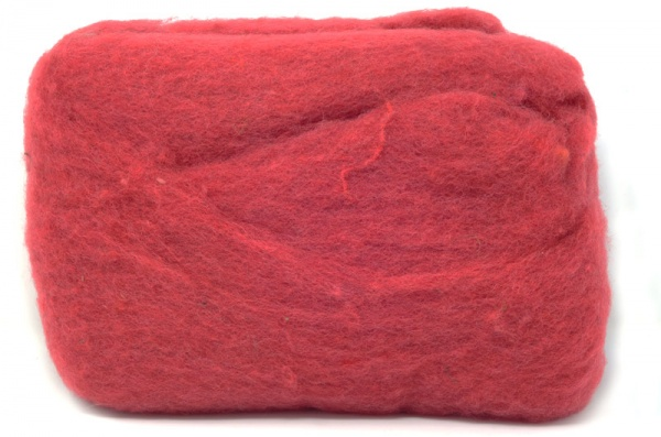 Carded Batts Cochineal ECB.75