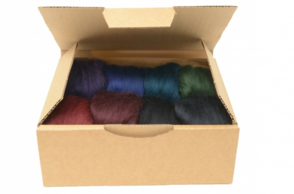 Dark Merino Wool Selection Pack<br> *Includes Free UK Shipping*