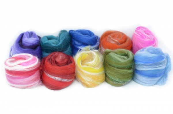 Craft Pack: Merino and Silk Blends, 100gm