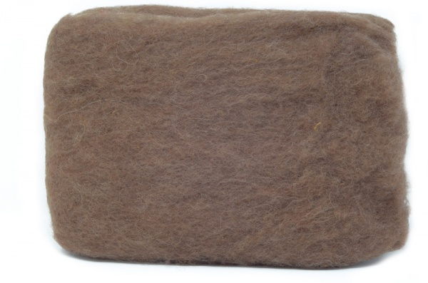 Carded Batts -Mid Brown ECB.11