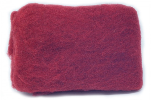Carded Batts - Ruby ECB.26