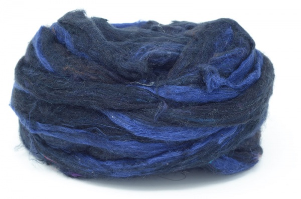 Sari Silk Sliver - Black Flecked