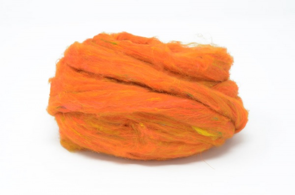 Sari Silk Sliver - Orange