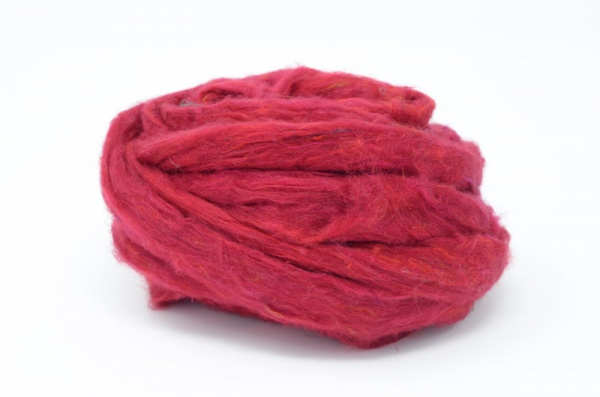 Sari Silk Sliver - Red