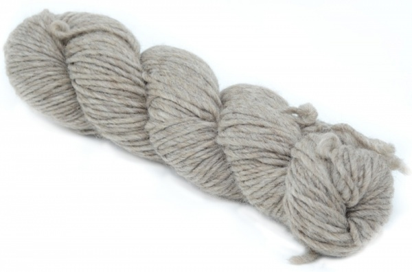 Bluefaced Leicester Roving - Light Brown