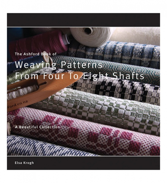 Ashford Book of Patterns From Four To Eight Shafts