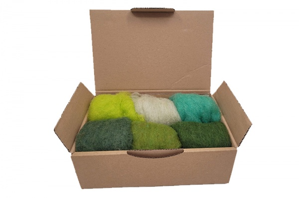 Carded Wool Craft Pack: Countryside <br> *Includes Free UK Shipping*