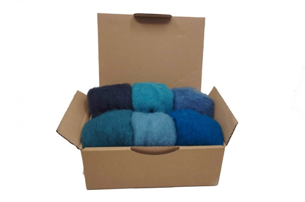 Carded Wool Craft Pack: Sea and Sky <br>*Includes Free UK Shipping*