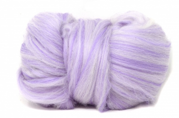 Corriedale Wool Blend: Purple 100gm