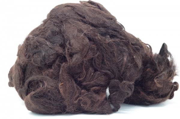 Dyed Brown Mohair Fleece DBMF