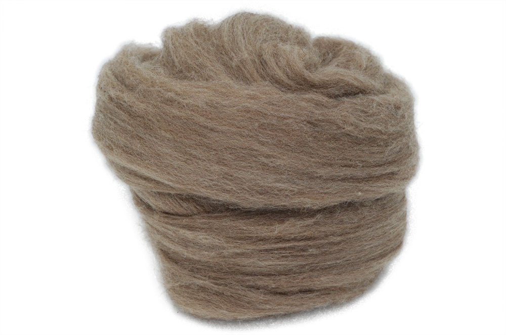 Light Brown French Merino D'Arles