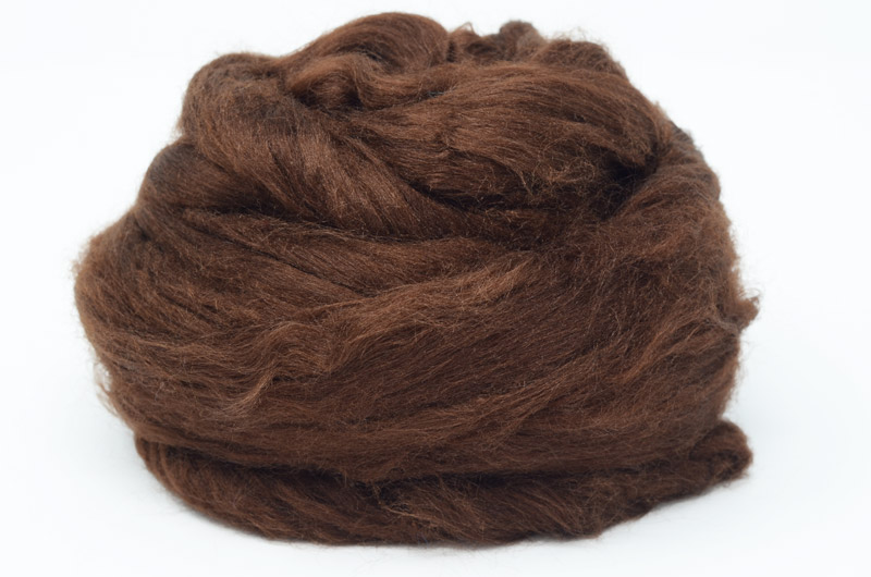 Tussah Silk - Brown DTS6