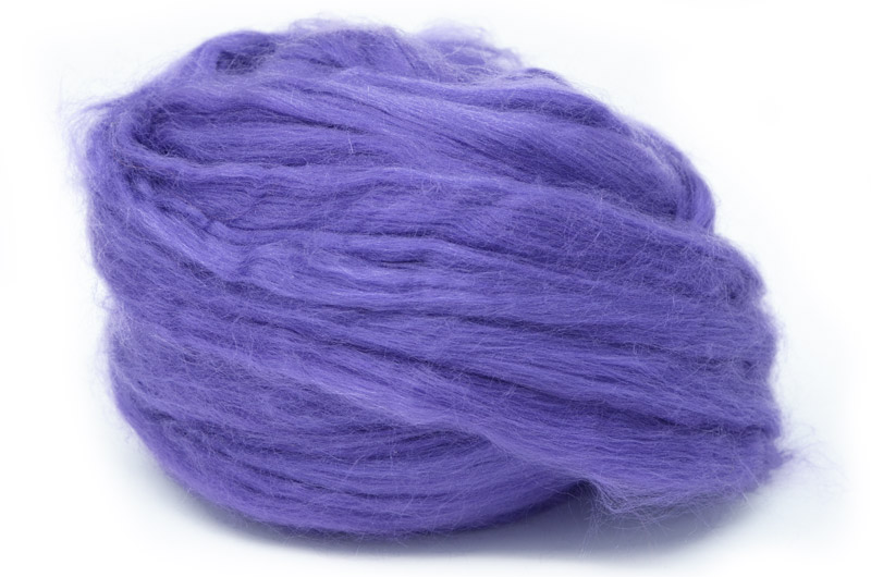 Tussah Silk - Purple DTS9