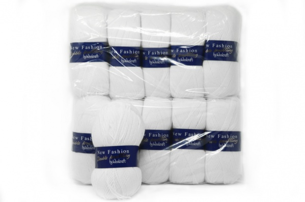 Acrylic Yarn - White