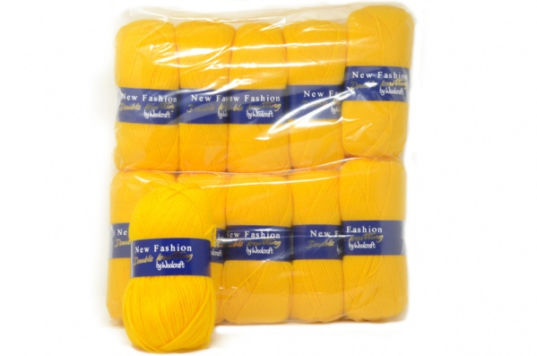Acrylic Yarn - Yellow