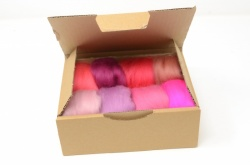 Pink Merino Wool Selection Pack<br> *Includes Free UK Shipping*