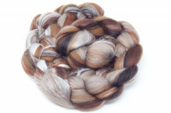 Merino and Silk, Brown 100gm