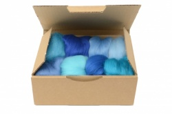 Blue Merino Wool Selection Pack<br> *Includes Free UK Shipping*
