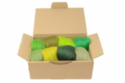 Green Merino Wool Selection Pack<br> *Includes Free UK Shipping*