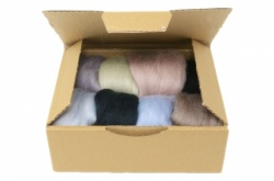 Grey Merino Wool Selection Pack<br> *Includes Free UK Shipping*
