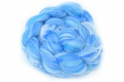 Merino and Silk, Light Blue 100gm