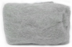 Carded Batts - Light Grey ECB.5
