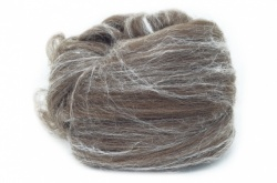 Merino D'arles brown and Silk Blend