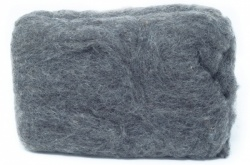 Carded Batts - Mid Grey ECB.3