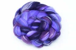 Merino and Silk, Purple 100gm