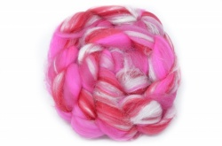 Merino and Silk, Bright Pink 100gm