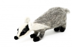 Intermediate Needle Felted Badger Course
