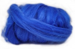 Dyed Tussah Silk  - Blue