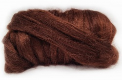Dyed Tussah Silk  - Brown