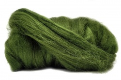 Dyed Tussah Silk  - Green