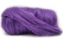 Dyed Tussah Silk  - Purple
